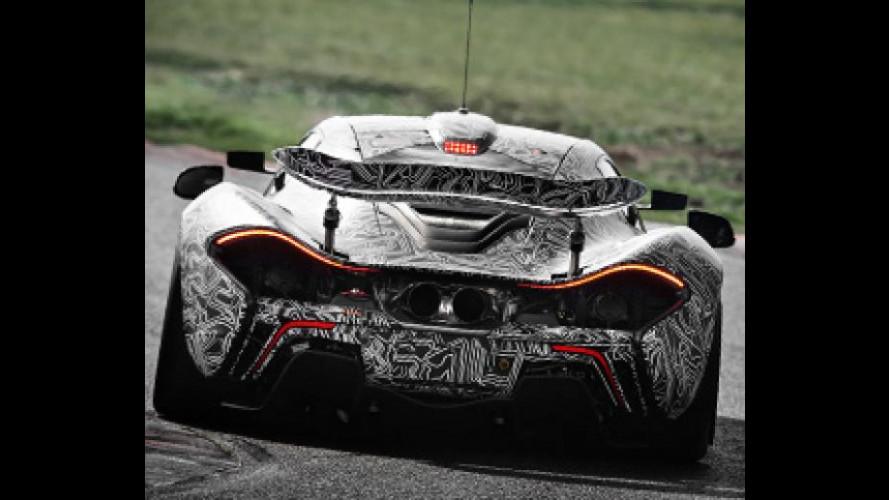McLaren P1 GTR arriva in Europa