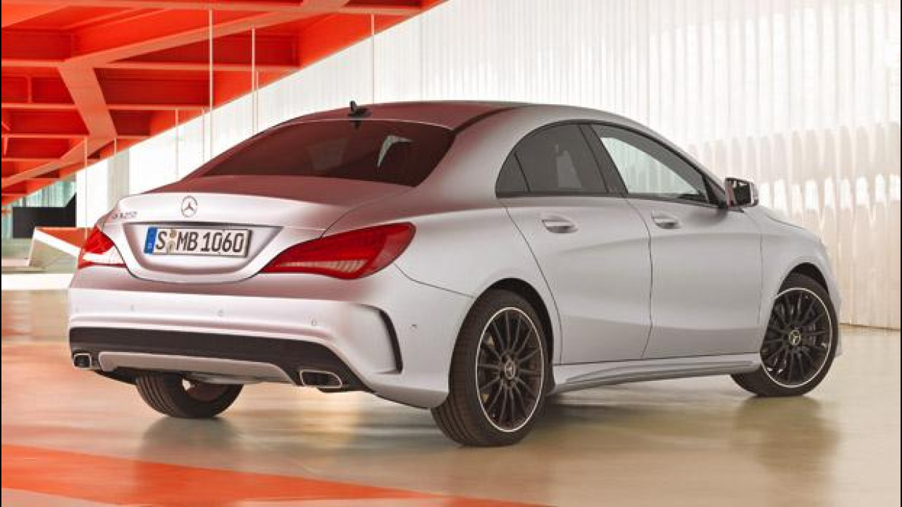 [Copertina] - Mercedes Classe CLA: i prezzi