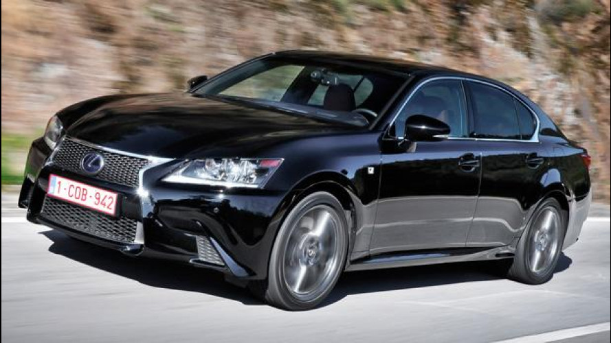 Nuova Lexus GS 450h, la maturità sportiva
