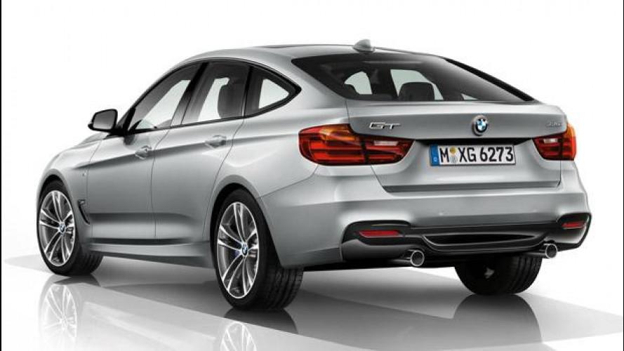 BMW Serie 3 GT, le prime foto col portellone