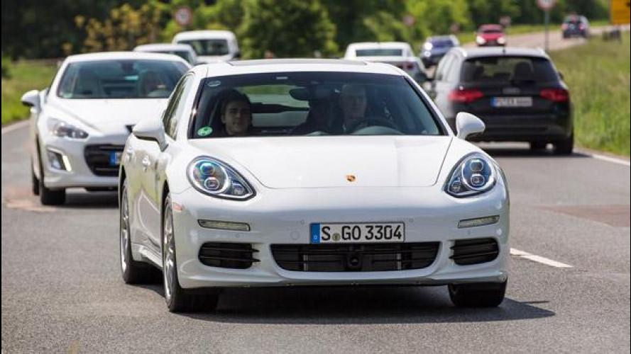 Porsche Panamera S E-Hybrid: 4,4 l/100 km nei primi test reali
