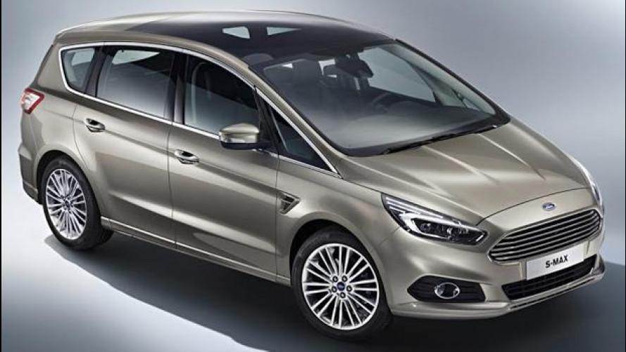 Nuova Ford S-MAX, familiare tecnologica