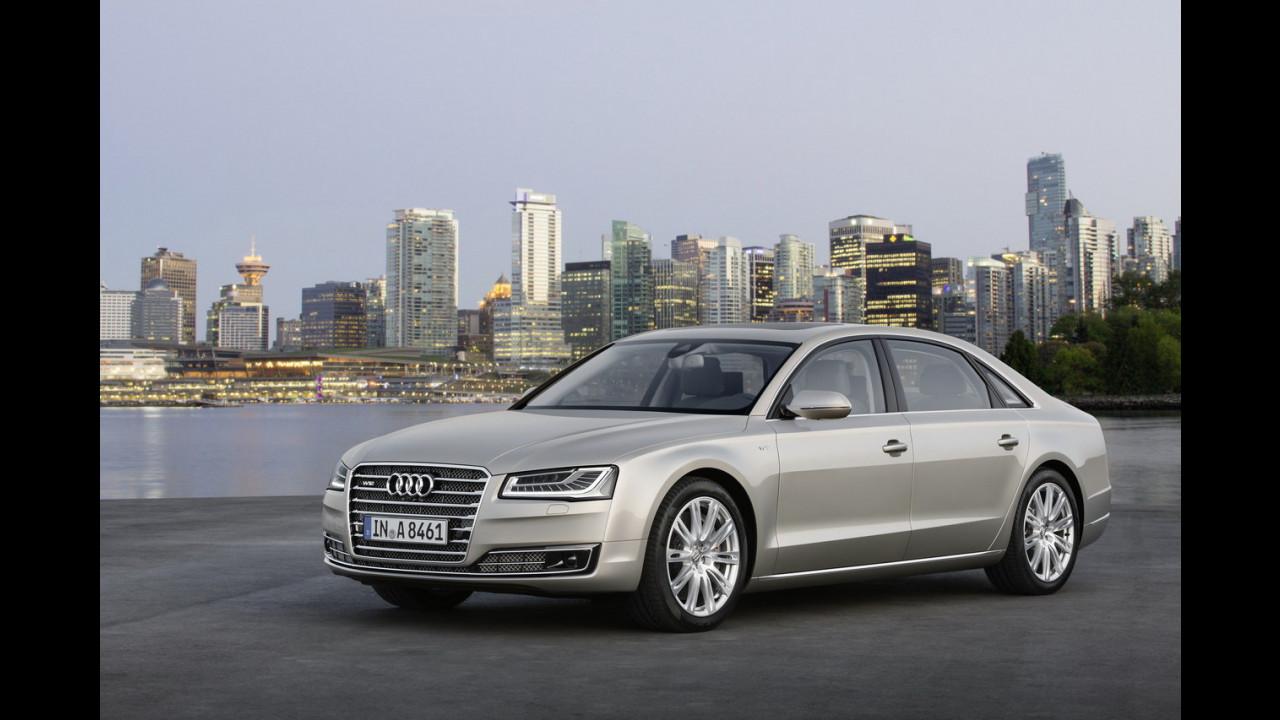 Audi A8 L restyling