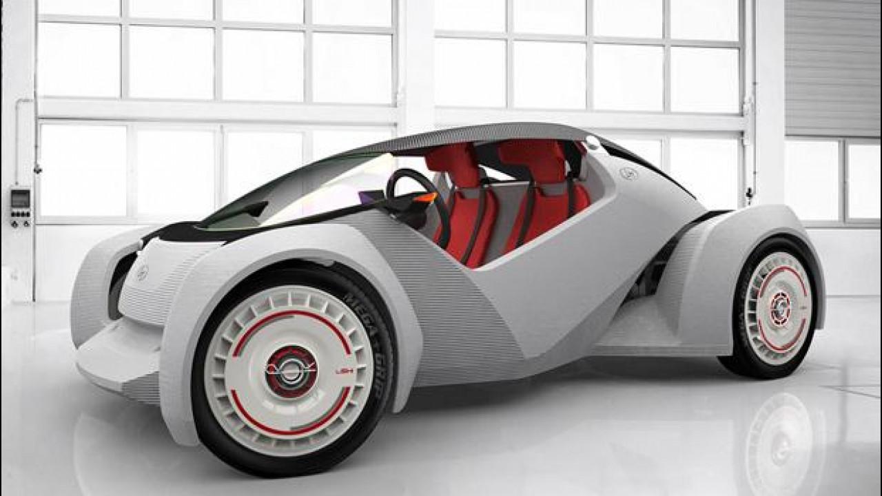[Copertina] - Strati, l'auto italo-americana stampata in 3D è già venduta