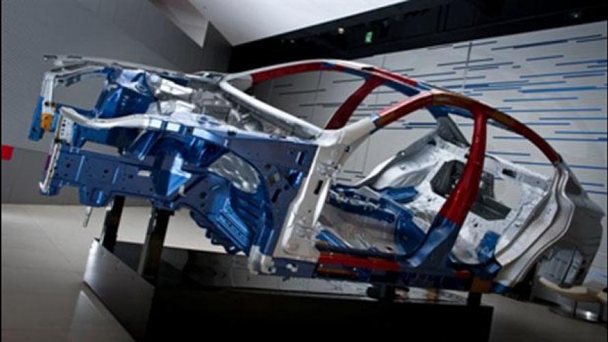 Nissan sviluppa una nuova lega di acciaio ultraresistente e duttile