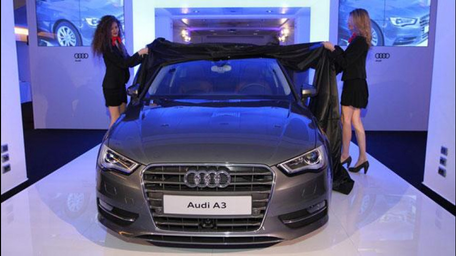 Nuova Audi A3 protagonista a Milano e a Roma