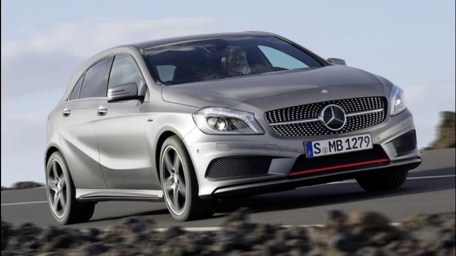 La Mercedes A45 AMG avrà 335 CV