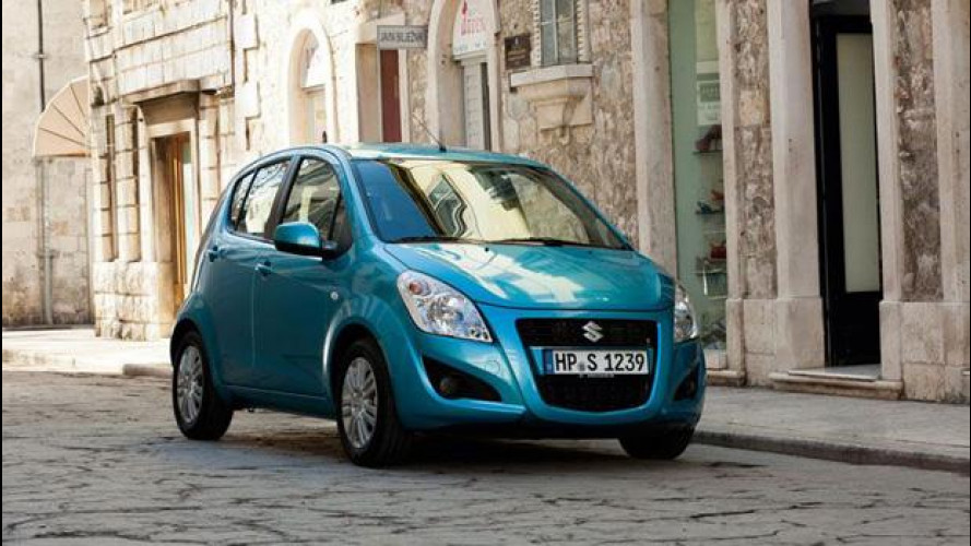 Suzuki Splash restyling