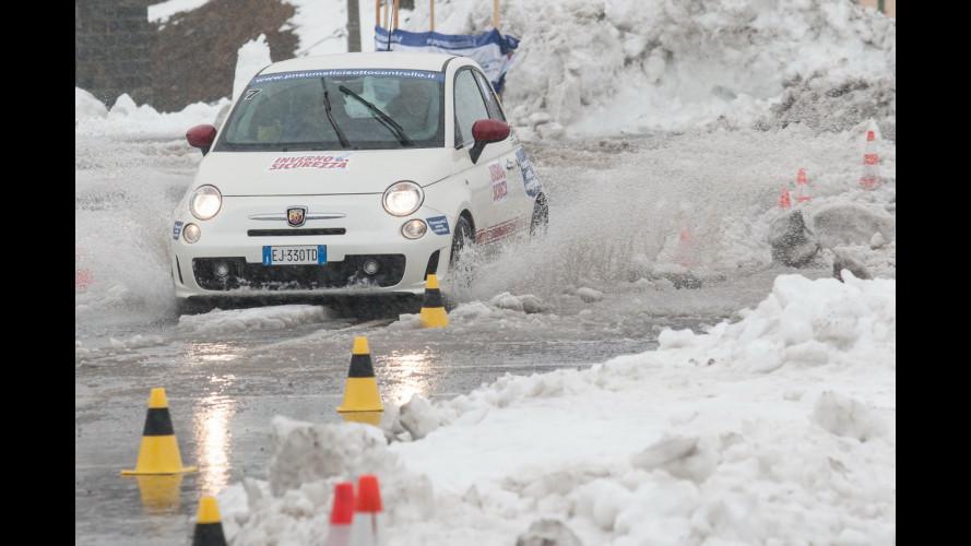Gomme invernali, pneumatici e catene da neve: i risultati dei test drive sullo Stelvio