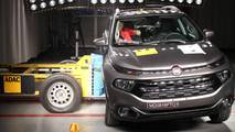 Fiat Toro - Crash-test