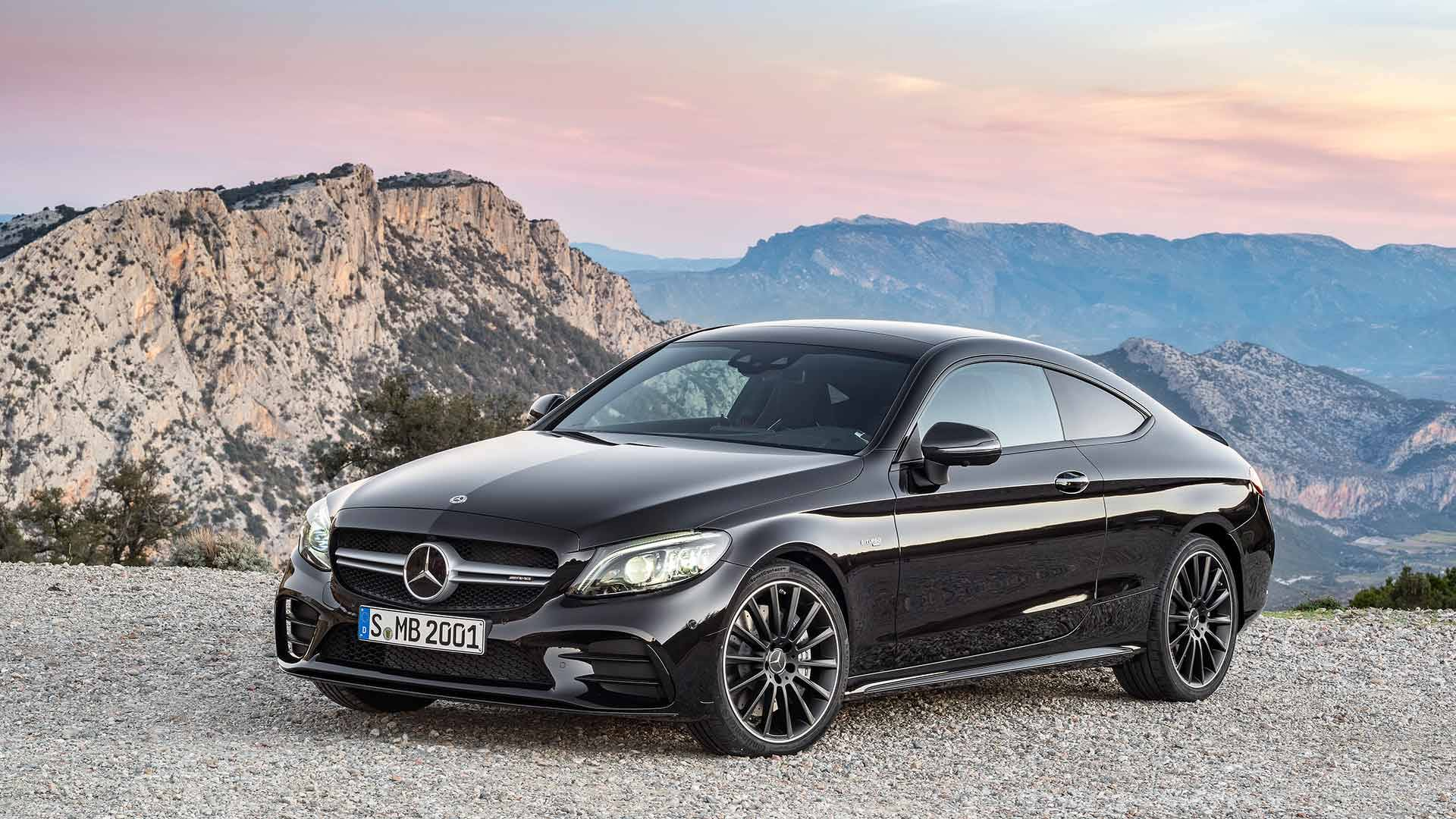 Refreshed C-Class Coupe And Cabriolet Bring High-Tech ...