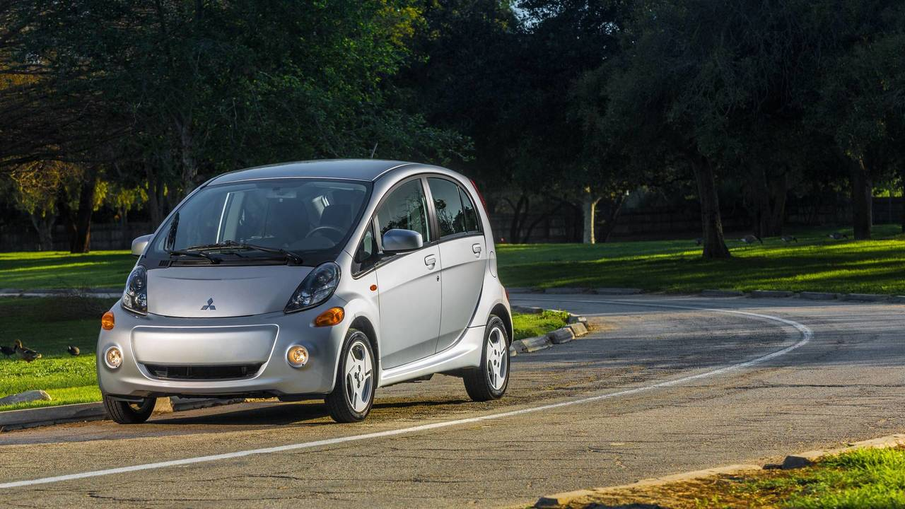 7. Electric/Plug-In Hybrid Car: Mitsubishi i-MiEV.