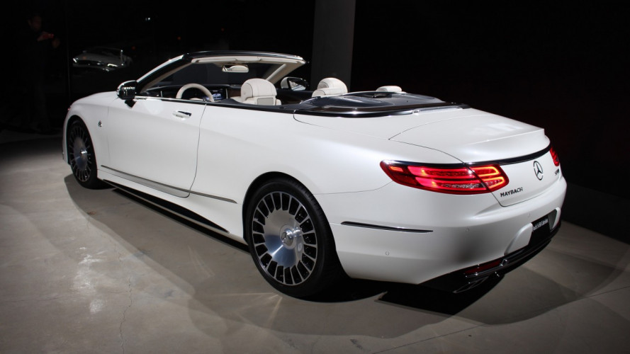 Mercedes-Maybach, ecco com'è la S650 Cabriolet [VIDEO]