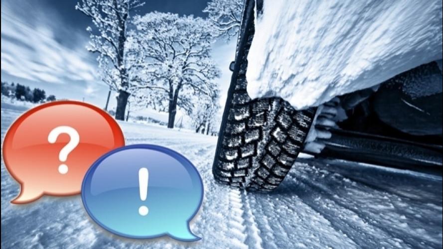 Pneumatici invernali, rispondiamo ai dubbi più frequenti