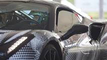Valentino Rossi a Fiorano sulla Ferrari 488 Pista