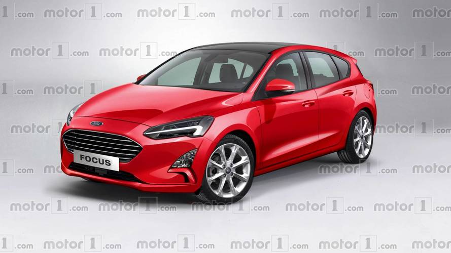 2019 Ford Focus render