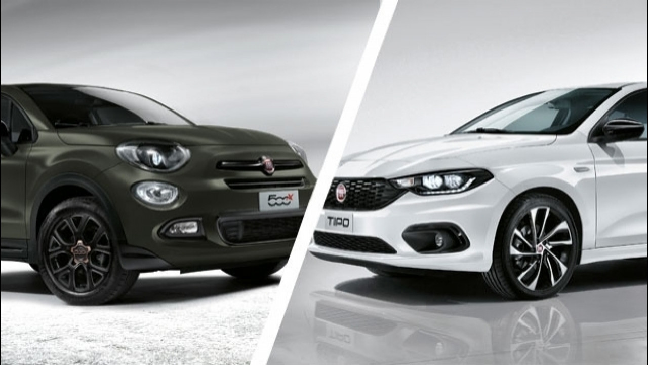 [Copertina] - Fiat S-Design, nuova serie speciale per Fiat 500X e Tipo
