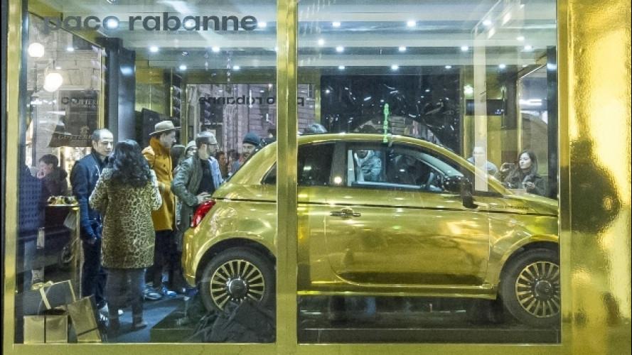 La Fiat 500 by PacoRabanne si vince con un'estrazione