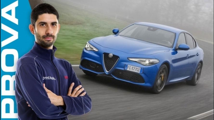 "Alfa Giulia Veloce Q4: ""integralista"" equilibrata [VIDEO]"