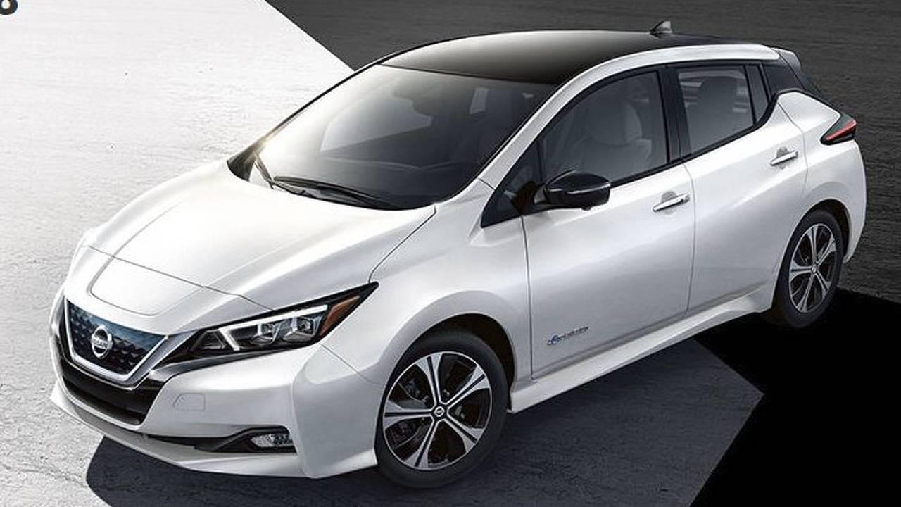 2018 Nissan Leaf (U.S.-spec)