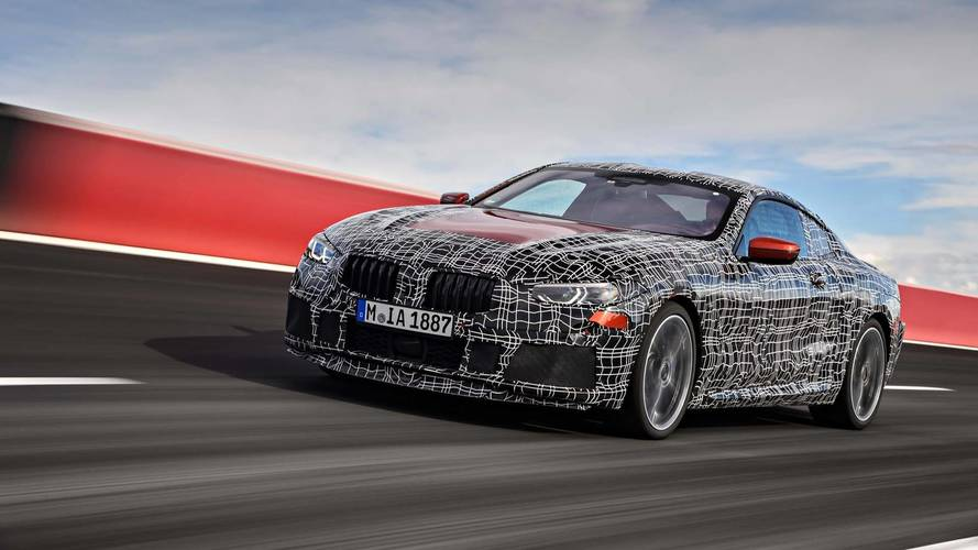 BMW 8 series getting final tweaks on track
