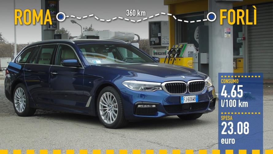 BMW 520d Touring: реальный расход топлива