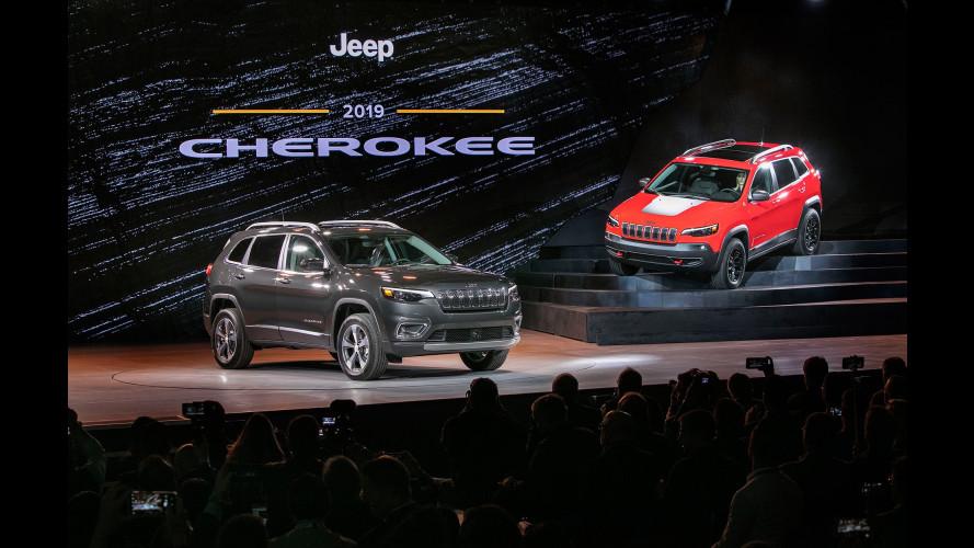 Jeep Cherokee, da Detroit col restyling