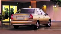 2000-2003 Hyundai Accent Sedan