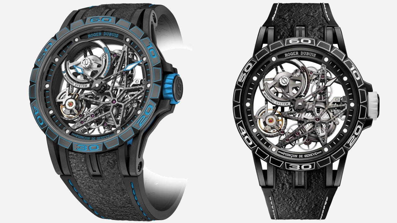 [Copertina] - Roger Dubuis e Pirelli Design colorano il tempo