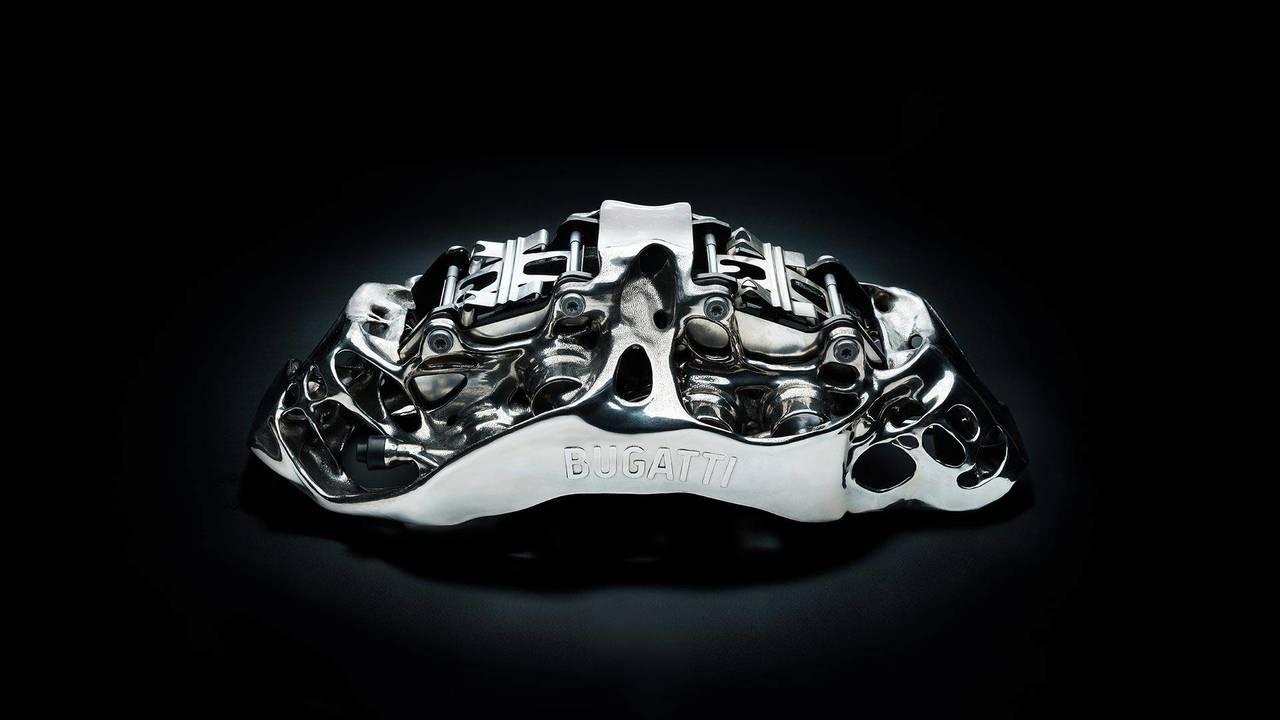 Bugatti imprime en 3D unas pinzas de freno