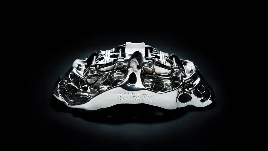 Bugatti imprime unas pinzas de freno en 3D