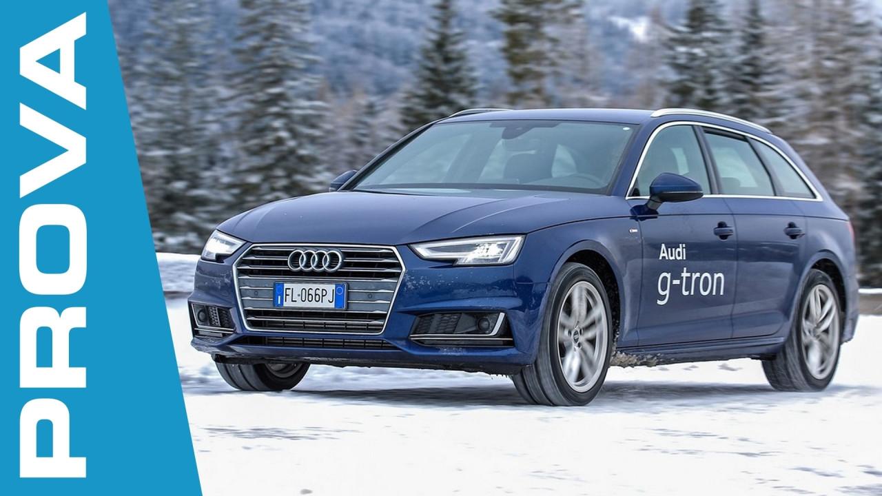 [Copertina] - Audi A4 Avant g-tron, quando il metano diventa premium