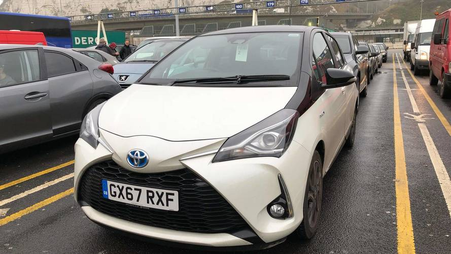 Toyota Yaris Hybrid long-term test car