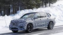 New Mercedes-AMG GLS 63 spy photo