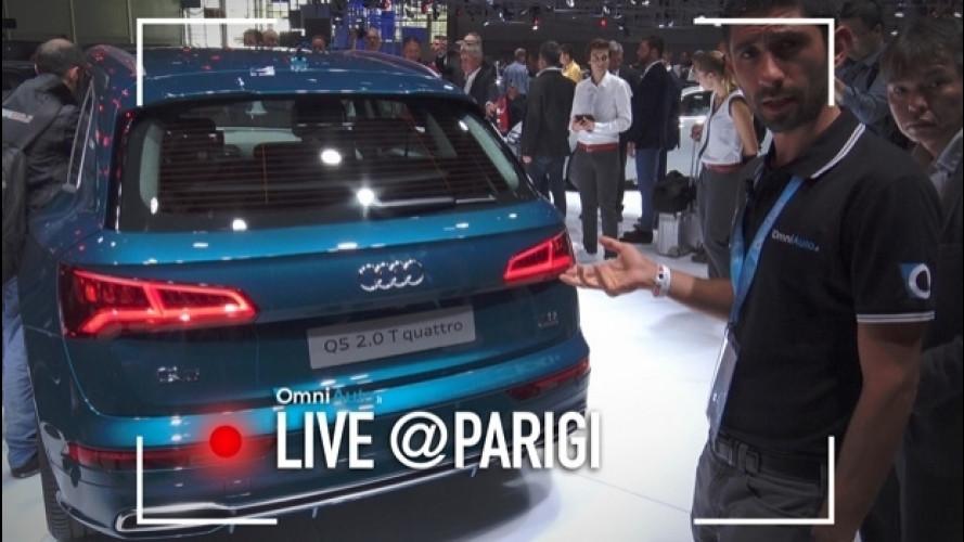 Salone di Parigi, l'Audi Q5 è pronta a sfidare la Stelvio [VIDEO]