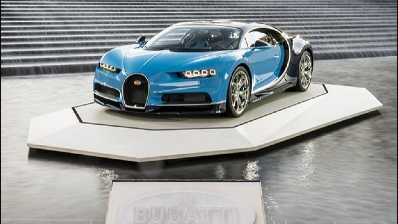 [Copertina] - Bugatti Chiron, un premio per lo stile a Parigi