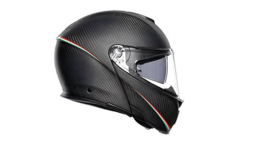 AGV Unveils First-Ever Full Carbon Fiber Modular Helmet