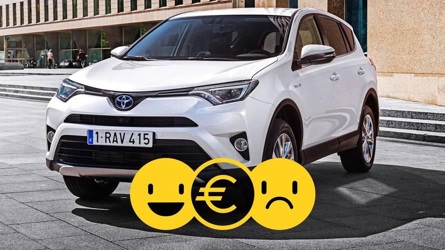 Promozione Toyota RAV4 Hybrid, perché conviene e perché no