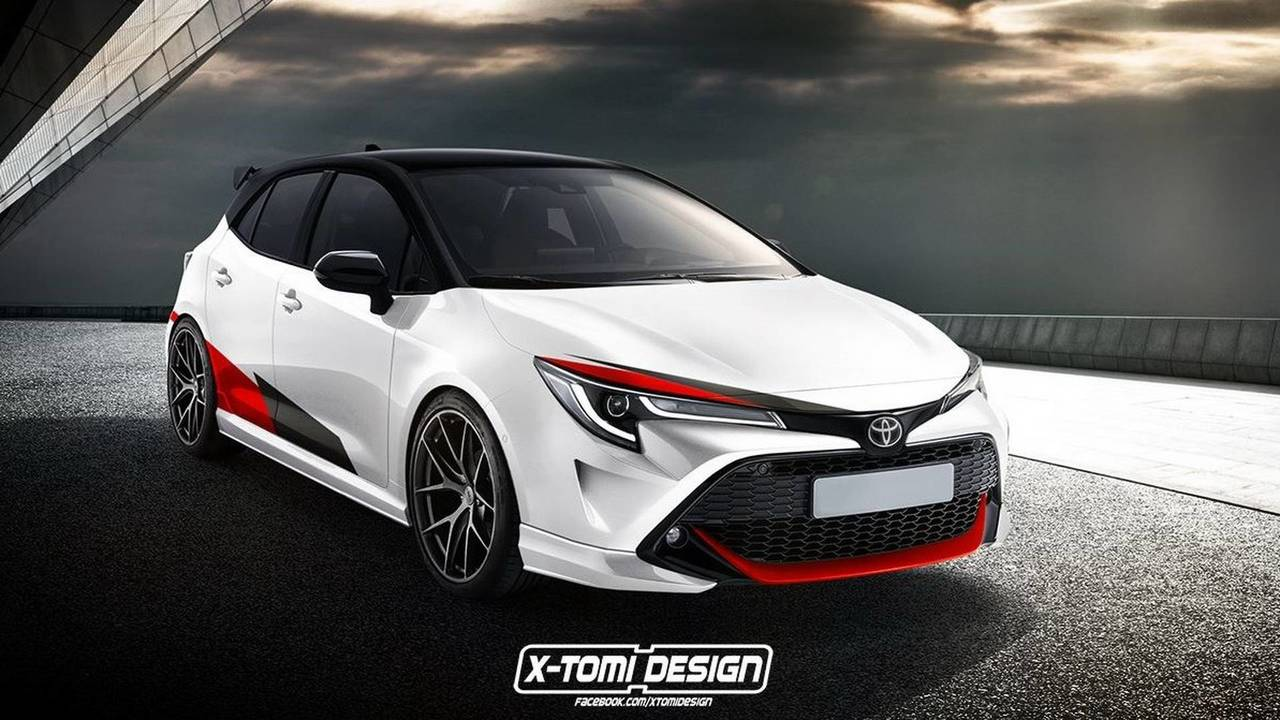 Toyota Yaris GRMN Rendering