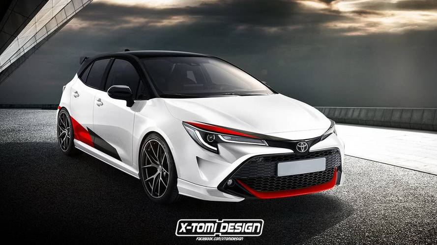 Toyota Hints At Sporty Corolla Hatchback / Auris GR