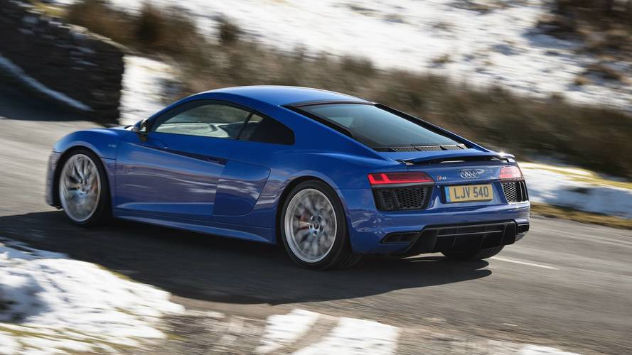 Audi R8 Facelift Might Bring Back The Rear-Wheel-Drive Version