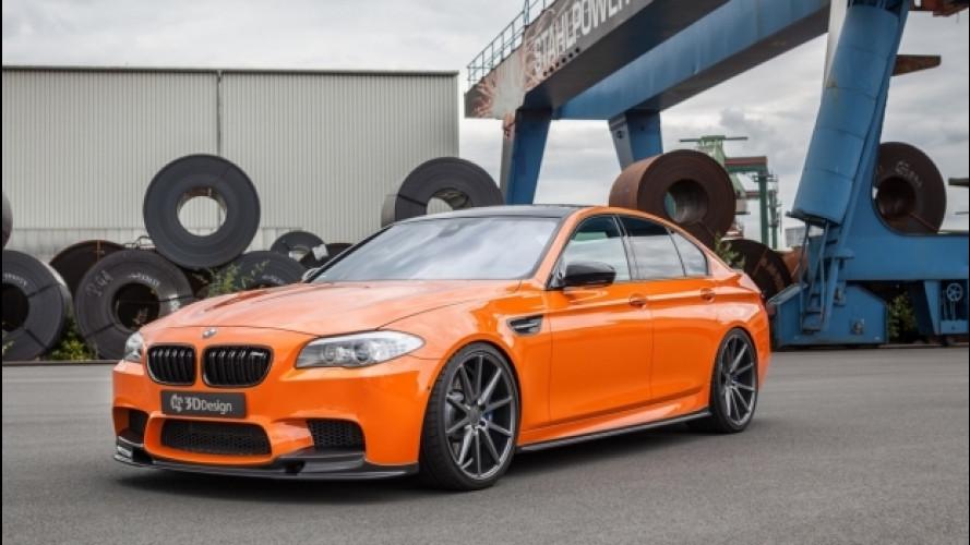 [Copertina] - BMW M5, quella di Carbonfiber Dynamics è la più potente del mondo