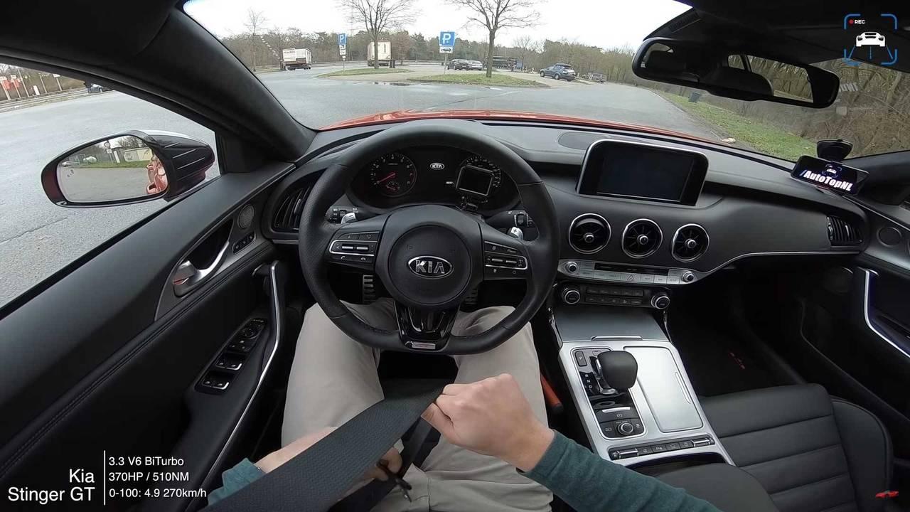 Kia Stinger GT top speed
