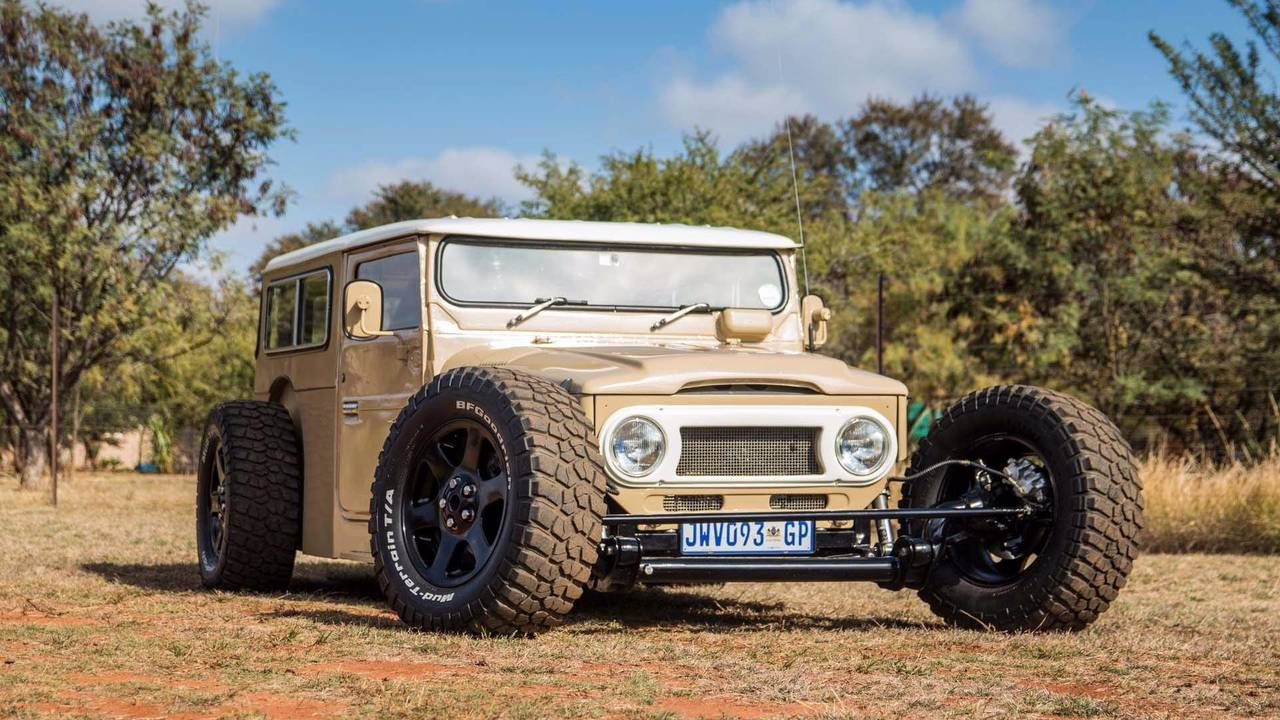 Toyota Land Cruiser FJ40 Hot Road