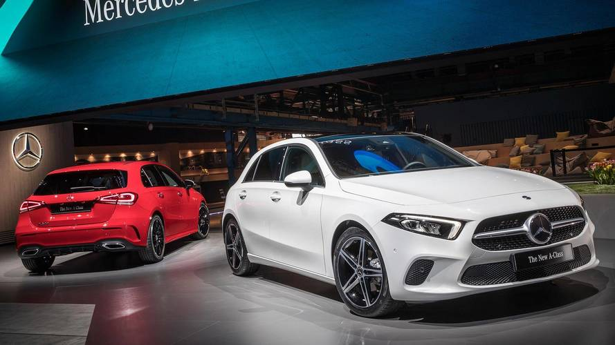 Mercedes-Benz Reveals New A-Class As High-Tech Tour De Force