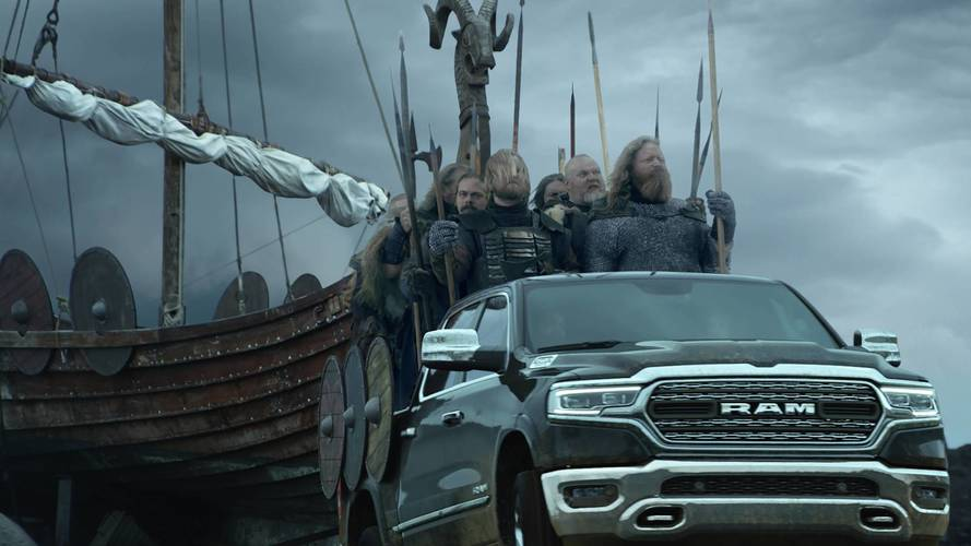 2019 Ram 1500, Vikings Invade Minneapolis With In Super Bowl Ad
