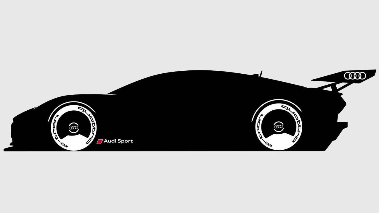 Audi Vision GT e-tron, il teaser