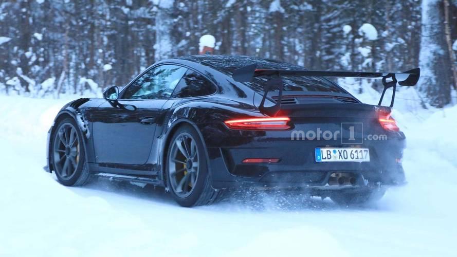 Porsche 911 GT3 RS casus fotoğraf