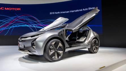 Le concept-car électrique GAC Enverge au Salon de Détroit