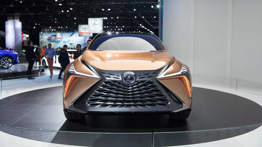 Lexus Working On 611-Horsepower SUV To Rival Lamborghini Urus?